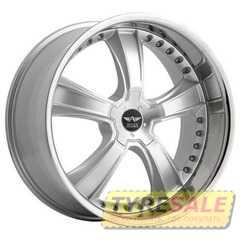Легковой диск Avarus AV2 Silver w/Chrome - Интернет магазин шин и дисков по минимальным ценам с доставкой по Украине TyreSale.com.ua