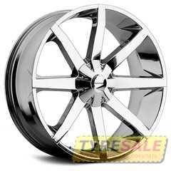 Легковой диск KMC KM651 Chrome - Интернет магазин шин и дисков по минимальным ценам с доставкой по Украине TyreSale.com.ua