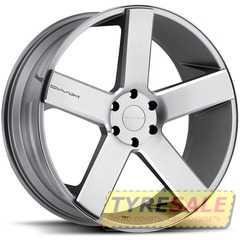Легковой диск KMC KM690 Chrome - Интернет магазин шин и дисков по минимальным ценам с доставкой по Украине TyreSale.com.ua
