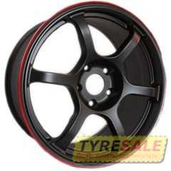 Легковой диск ROTA Boost Black Red Lip - Интернет магазин шин и дисков по минимальным ценам с доставкой по Украине TyreSale.com.ua