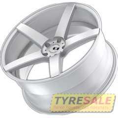 Купить Легковой диск XO LUXURY Miami BRS/MTSIL R20 W10 PCD5x120 ET42 DIA72.56