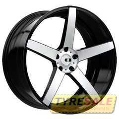 Купить Легковой диск XO LUXURY Miami BRS/MTBK R20 W10 PCD5x120 ET42 DIA72.56