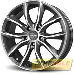 MOMO Screamjet EVO Anthracite Diamond Cut - Интернет магазин шин и дисков по минимальным ценам с доставкой по Украине TyreSale.com.ua