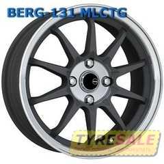 Легковой диск BERG 168 MLCTG - Интернет магазин шин и дисков по минимальным ценам с доставкой по Украине TyreSale.com.ua