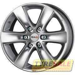 MAK Sierra Hyper Silver - Интернет магазин шин и дисков по минимальным ценам с доставкой по Украине TyreSale.com.ua