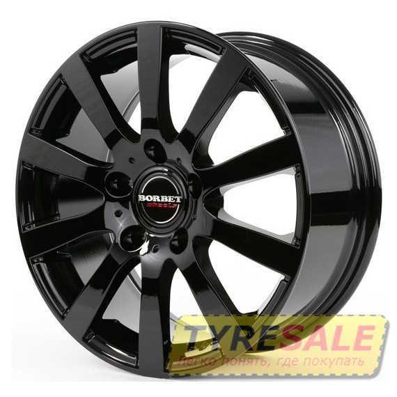 BORBET C2C Glossy Black - Интернет магазин шин и дисков по минимальным ценам с доставкой по Украине TyreSale.com.ua