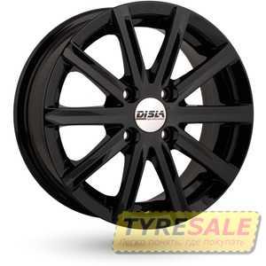 Купить DISLA 405 Black R14 W6 PCD4x98 ET37 DIA67.1