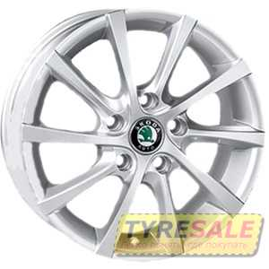 Купить REPLICA Volkswagen JT-1263 SiL R15 W6 PCD5x112 ET40 DIA57.1