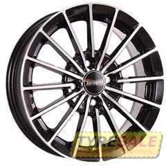 Купить TECHLINE 426 BL R14 W5.5 PCD4x100 ET35 HUB67.1