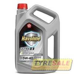 Купить Моторное масло TEXACO Havoline Ultra S 5W-40 (4л)