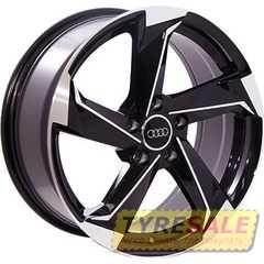 Легковой диск REPLICA AUDI BK5185 BP - Интернет магазин шин и дисков по минимальным ценам с доставкой по Украине TyreSale.com.ua