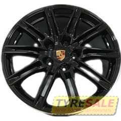 Легковой диск REPLAY PR12 BKL - Интернет магазин шин и дисков по минимальным ценам с доставкой по Украине TyreSale.com.ua