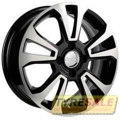 Легковой диск REPLAY RN163 BKF - Интернет магазин шин и дисков по минимальным ценам с доставкой по Украине TyreSale.com.ua