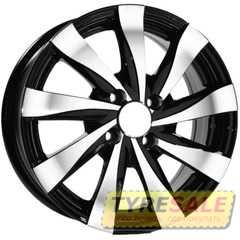 Купить Легковой диск REPLAY TY251 BKF R15 W6 PCD5x114.3 ET39 DIA60.1