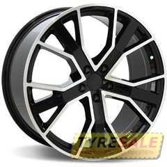 Легковой диск REPLICA LegeArtis A520 BKF - Интернет магазин шин и дисков по минимальным ценам с доставкой по Украине TyreSale.com.ua