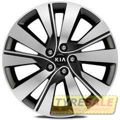 Легковой диск REPLICA LegeArtis KI527 BKF - Интернет магазин шин и дисков по минимальным ценам с доставкой по Украине TyreSale.com.ua