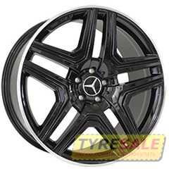 Легковой диск REPLICA MR975 BKL - Интернет магазин шин и дисков по минимальным ценам с доставкой по Украине TyreSale.com.ua