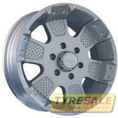 Легковой диск MKW MK-41 Silver - Интернет магазин шин и дисков по минимальным ценам с доставкой по Украине TyreSale.com.ua