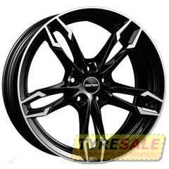 Легковой диск GMP Italia DEA POL/BLK - Интернет магазин шин и дисков по минимальным ценам с доставкой по Украине TyreSale.com.ua