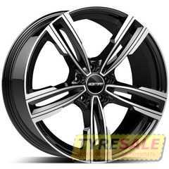Легковой диск GMP Italia REVEN POL/BLK - Интернет магазин шин и дисков по минимальным ценам с доставкой по Украине TyreSale.com.ua