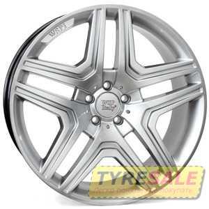 Купить WSP ITALY AMG NERO ME66 W766 HYPER SILVER R21 W10 PCD5x112 ET46 DIA66.6