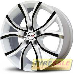 Купить MAK Nitro White R17 W7.5 PCD5x114.3 ET40 DIA76