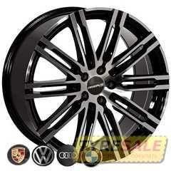 Легковой диск REPLICA BMW BK841 BP - Интернет магазин шин и дисков по минимальным ценам с доставкой по Украине TyreSale.com.ua
