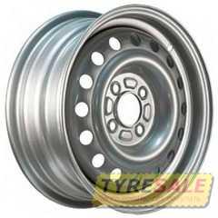 Купить Легковой диск STEEL TREBL 53C41G Silver R14 W5.5 PCD4x108 ET41 DIA63.3