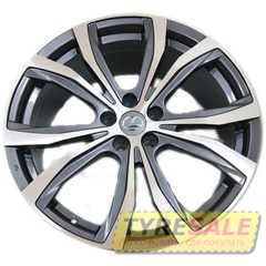 Легковой диск REPLAY LX108 GMF - Интернет магазин шин и дисков по минимальным ценам с доставкой по Украине TyreSale.com.ua