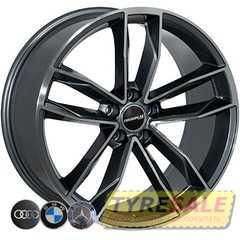 Легковой диск ZW BK5232 GP - Интернет магазин шин и дисков по минимальным ценам с доставкой по Украине TyreSale.com.ua
