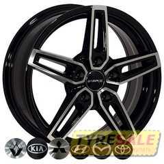 Легковой диск ZF FR696 BMF - Интернет магазин шин и дисков по минимальным ценам с доставкой по Украине TyreSale.com.ua