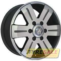 Легковой диск REPLICA RENAULT BK562 GP - Интернет магазин шин и дисков по минимальным ценам с доставкой по Украине TyreSale.com.ua