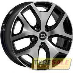 Купить Легковой диск ZF FE137 BMF R17 W6.5 PCD5x114.3 ET40 DIA67.1