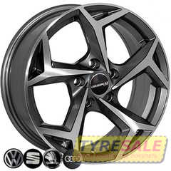 Купить Легковой диск REPLICA SEAT BK5340 GP R16 W6.5 PCD5x100 ET35 DIA57.1