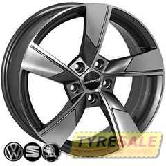 Легковой диск REPLICA SEAT SK522 GMF - Интернет магазин шин и дисков по минимальным ценам с доставкой по Украине TyreSale.com.ua