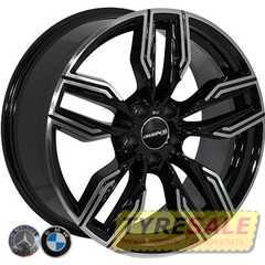 Легковой диск REPLICA BMW BK5181 BP - Интернет магазин шин и дисков по минимальным ценам с доставкой по Украине TyreSale.com.ua