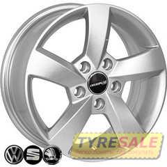 Легковой диск REPLICA VOLKSWAGEN FR583 S - Интернет магазин шин и дисков по минимальным ценам с доставкой по Украине TyreSale.com.ua