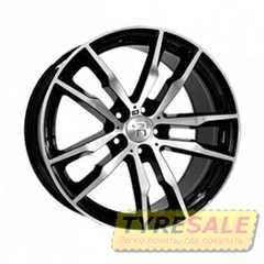 Легковой диск REPLAY B222 BKF - Интернет магазин шин и дисков по минимальным ценам с доставкой по Украине TyreSale.com.ua