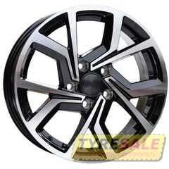 Легковой диск REPLICA JT-1690 BF - Интернет магазин шин и дисков по минимальным ценам с доставкой по Украине TyreSale.com.ua