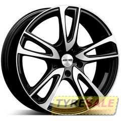 Легковой диск GMP Italia ASTRAL POL/BLK - Интернет магазин шин и дисков по минимальным ценам с доставкой по Украине TyreSale.com.ua