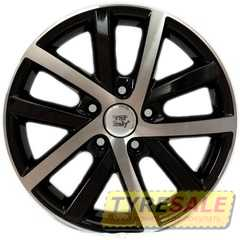 Легковой диск WSP ITALY W460 Rheia GLOSSY BLACK POLISHED - Интернет магазин шин и дисков по минимальным ценам с доставкой по Украине TyreSale.com.ua