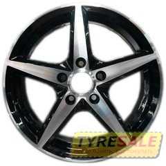 Легковой диск REPLICA JT-1254 BM - Интернет магазин шин и дисков по минимальным ценам с доставкой по Украине TyreSale.com.ua
