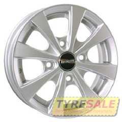 Купить TECHLINE 311 Silver R13 W4.5 PCD4x114.3 ET43 DIA69.1