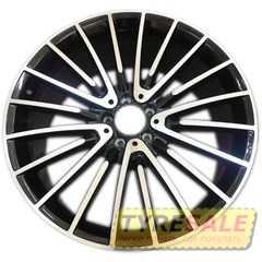 Легковой диск REPLICA MR252 BKF - Интернет магазин шин и дисков по минимальным ценам с доставкой по Украине TyreSale.com.ua