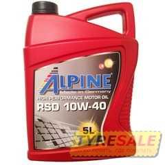Купить Моторное масло ALPINE RSD 10W-40 (5л)