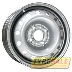 Легковой диск STEEL TREBL 53A43C Silver - Интернет магазин шин и дисков по минимальным ценам с доставкой по Украине TyreSale.com.ua