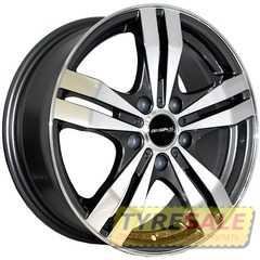 Легковой диск REPLICA MAZDA 348 MK-P - Интернет магазин шин и дисков по минимальным ценам с доставкой по Украине TyreSale.com.ua
