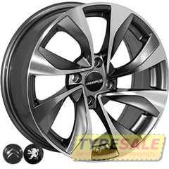 Легковой диск ALLANTE 5070 GMF - Интернет магазин шин и дисков по минимальным ценам с доставкой по Украине TyreSale.com.ua
