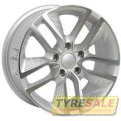 Легковой диск PDW 5218 Rough Silver Machine Face - Интернет магазин шин и дисков по минимальным ценам с доставкой по Украине TyreSale.com.ua