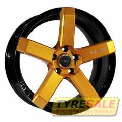 Купить Легковой диск PDW Fury Black Plus Orange ​With Milling R18 W8 PCD5x114.3 ET40 DIA73.1